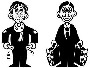 گروه های ثروتمند و فقیر بورس را بشناسید