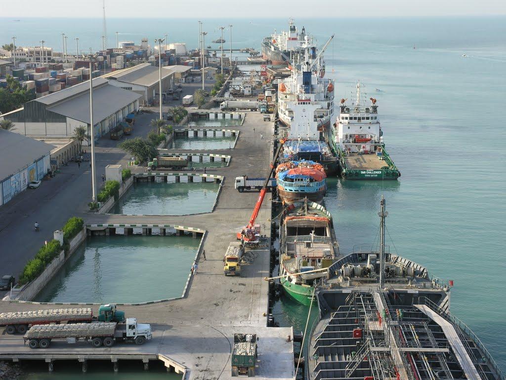 بهرهبرداری از تاسیسات اسکله سوخترسانی بوشهر